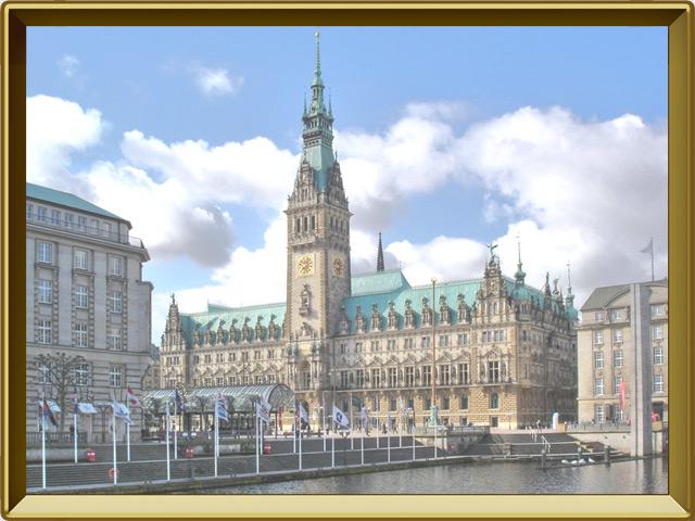 Гамбург — город, фото в рамке №1