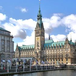Гамбург — город, картинка цветная