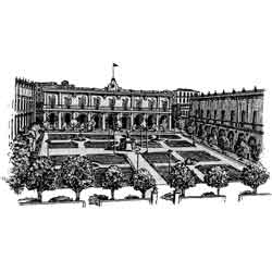 Гавана — город, картинка чёрно-белая