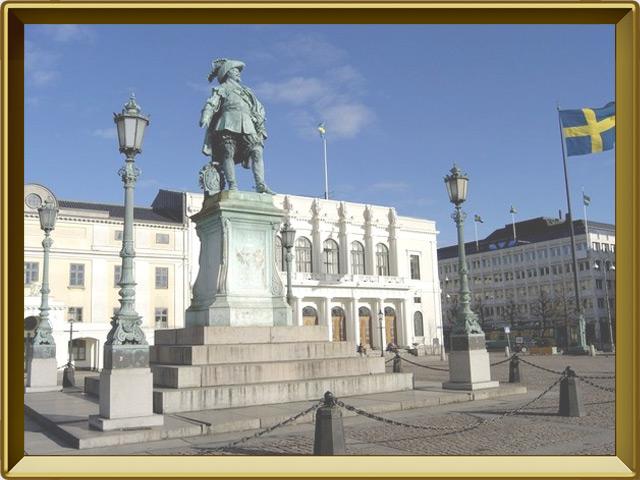 Гётеборг — город, фото в рамке №1