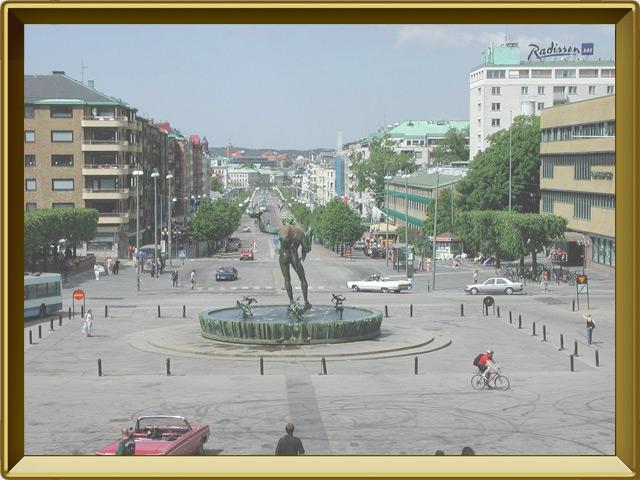 Гётеборг — город, фото в рамке №3