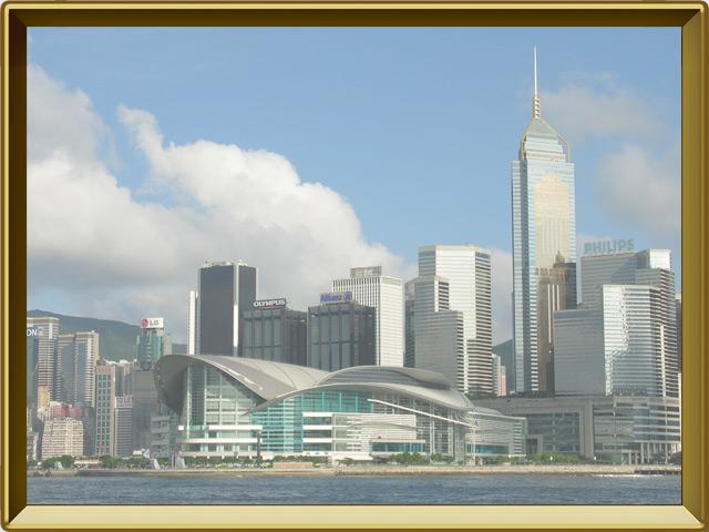 Гонконг — город, фото в рамке №1
