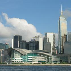 Гонконг — город, картинка цветная
