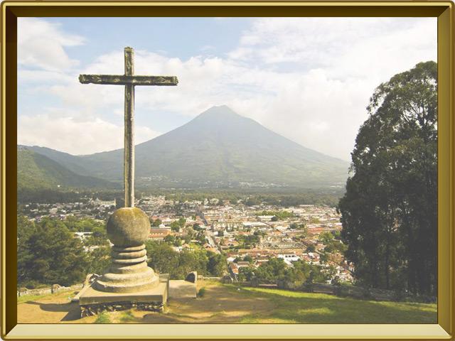 Гватемала — город, фото в рамке №1
