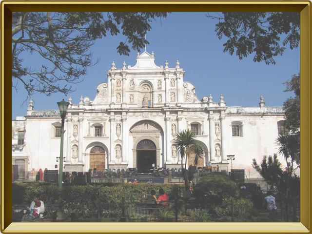 Гватемала — город, фото в рамке №3