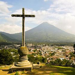 Гватемала — город, картинка цветная