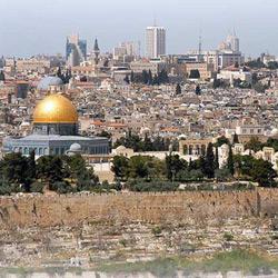 Иерусалим — город, картинка цветная