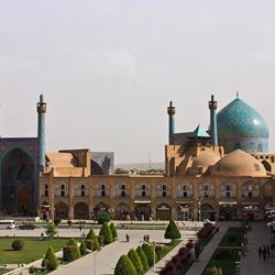 Исфахан — город, картинка цветная
