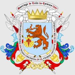 Каракас — герб города, картинка цветная