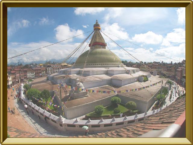 Катманду — город, фото в рамке №2