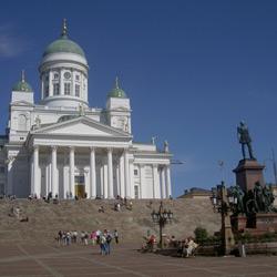 Хельсинки — город, картинка цветная