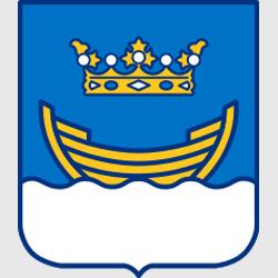Хельсинки — герб города, картинка цветная