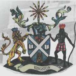Кингстон — герб города, картинка цветная