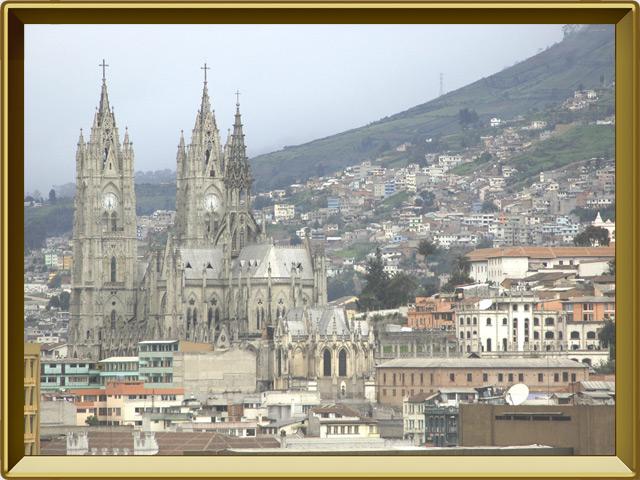 Кито — город, фото в рамке №1