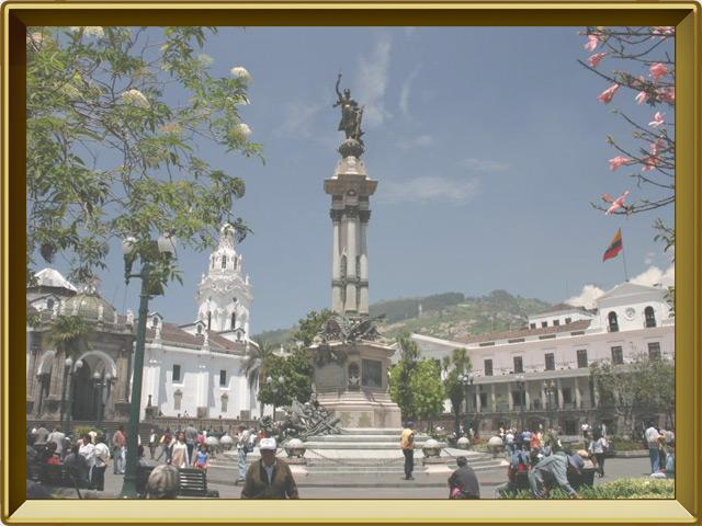 Кито — город, фото в рамке №2