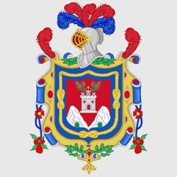 Кито — герб города, картинка цветная