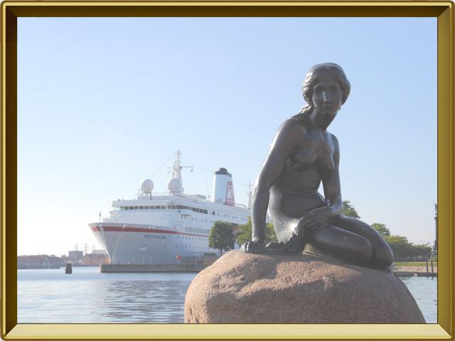 Копенгаген — город, фото в рамке №1