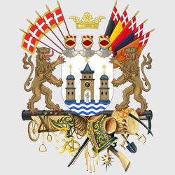 Копенгаген — герб города, картинка цветная