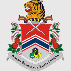 Куала-Лумпур — герб города, картинка цветная