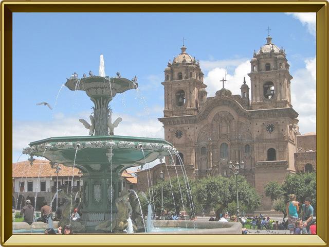 Куско — город, фото в рамке №1