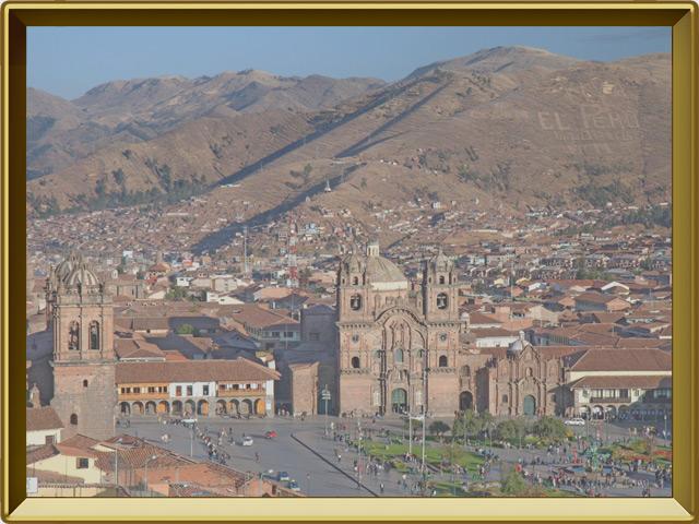 Куско — город, фото в рамке №3