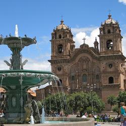 Куско — город, картинка цветная