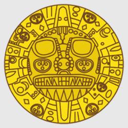 Куско — герб города, картинка цветная