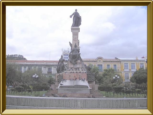 Ла-Пас — город, фото в рамке №1