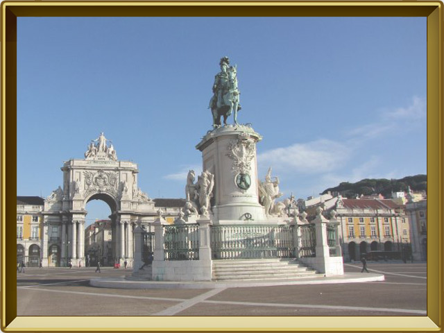 Лиссабон — город, фото в рамке №1