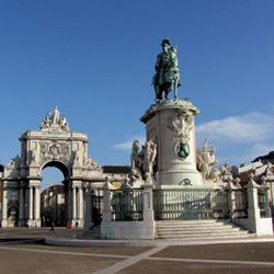Лиссабон — город, картинка цветная