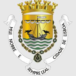 Лиссабон — герб города, картинка цветная