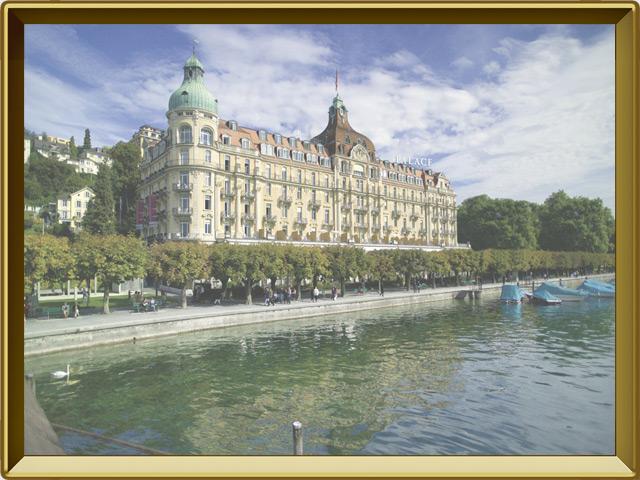 Люцерн — город, фото в рамке №3