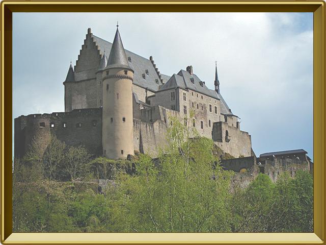 Люксембург — город, фото в рамке №1