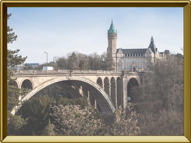Люксембург — город, фото в рамке №2