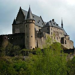 Люксембург — город, картинка цветная