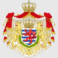 Люксембург — герб города, картинка цветная