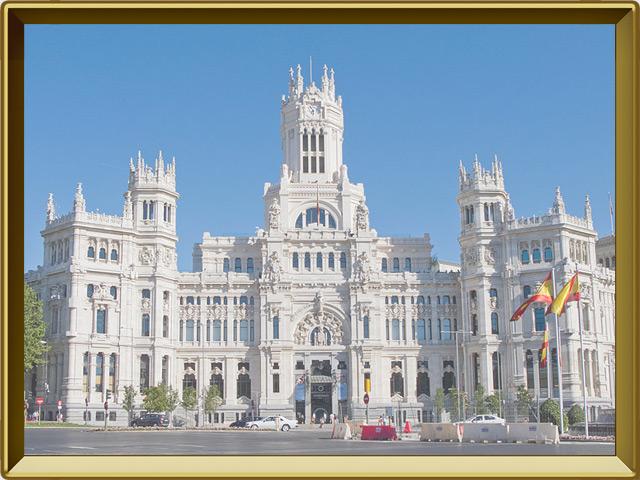 Мадрид — город, фото в рамке №1