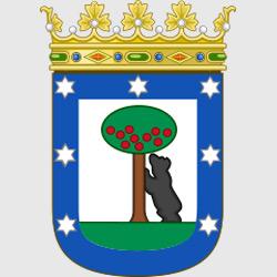 Мадрид — герб города, картинка цветная