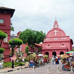Малакка — город, картинка цветная