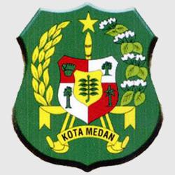 Медан — герб города, картинка цветная
