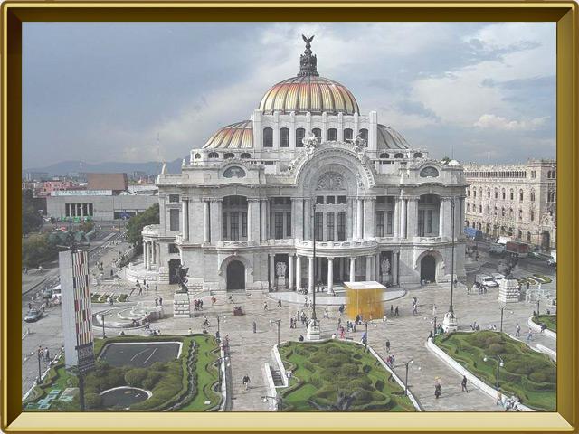 Мехико — город, фото в рамке №1