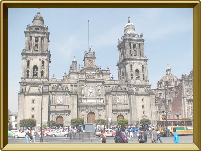Мехико — город, фото в рамке №3