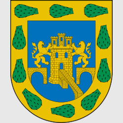 Мехико — герб города, картинка цветная
