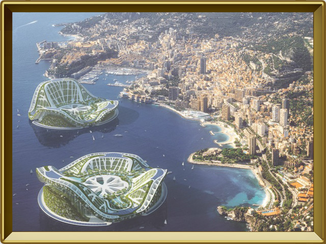 Монако — город, фото в рамке №3