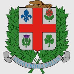 Монреаль — герб города, картинка цветная