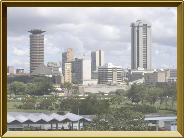 Найроби — город, фото в рамке №1