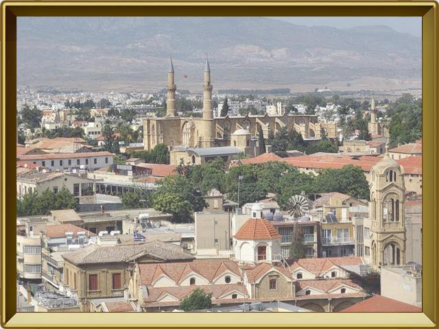 Никосия — город, фото в рамке №1