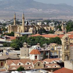 Никосия — город, картинка цветная