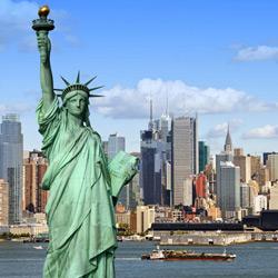 Нью-Йорк — город, картинка цветная