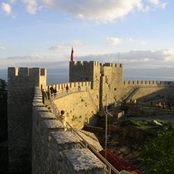 Охрид — город, картинка цветная